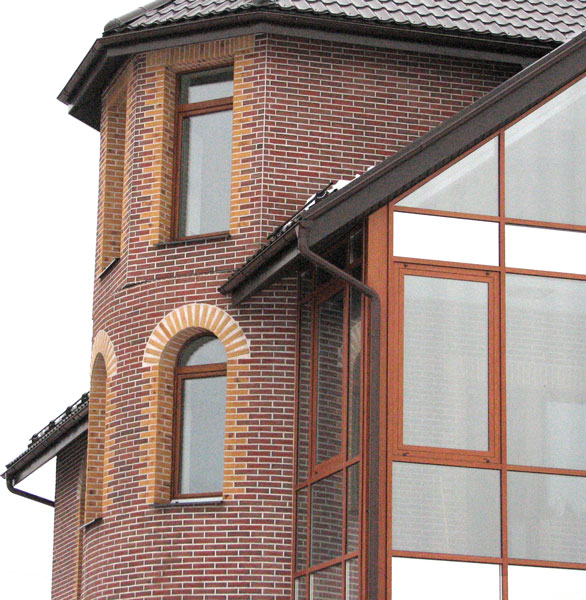 Клинкерные фасадные термопанели 1