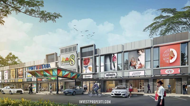 view of Pasar 8 Alam Sutera
