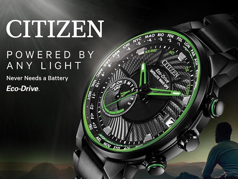 Citizen Eco-drive- tiếng vang lớn trong ngành công nghiệp đồng hồ