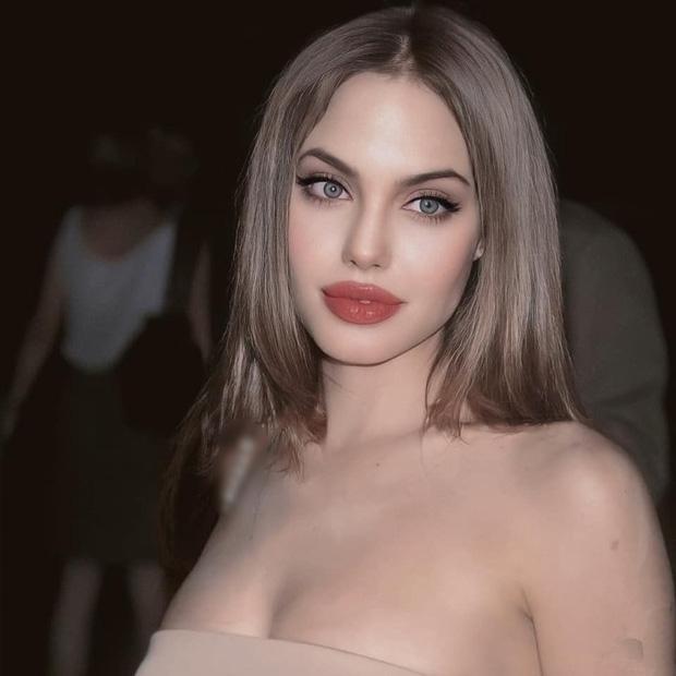 Bộ ảnh gây bão của Angelina Jolie hóa ra chỉ là giả - ảnh 3
