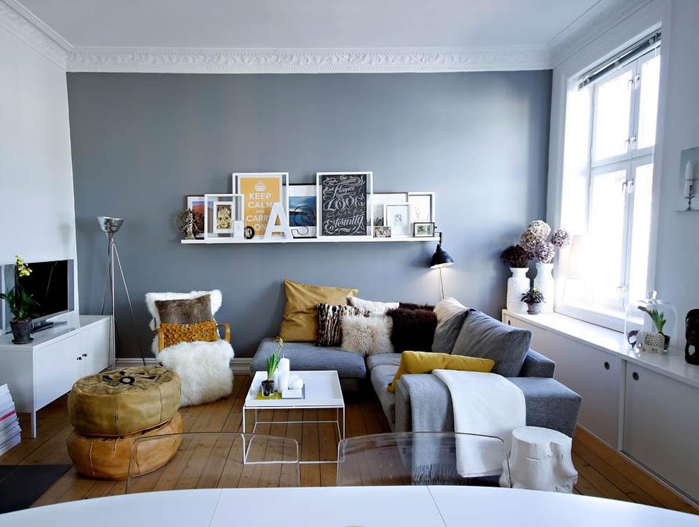 Ý tưởng thiết kế phòng khách đơn giản thanh lịch mới nhất