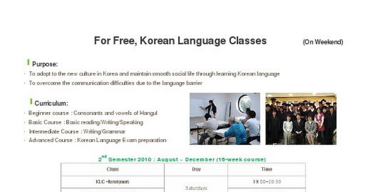 Korean Classes in Suwon pdf - Google Drive