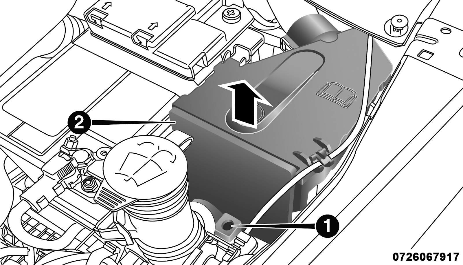 Usb Port Just Died Fiat 500 Interior Fuse Box Panel And Cover Location