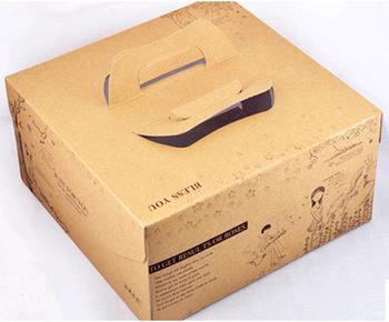 hộp bánh bằng giấy bồi carton