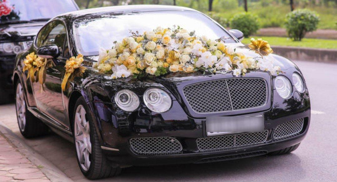 thuê xe cưới bentley