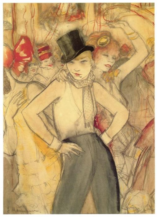 Jeanne Mammen & the Women of Berlin's Cabaret | #womensart ♀