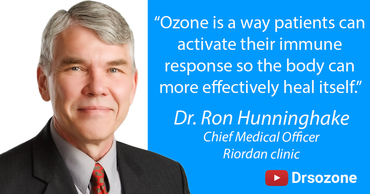 Dr Ron Hunninghake quote - Ozone is a way patients can activate their immune response so the body can more effectively heal itself.