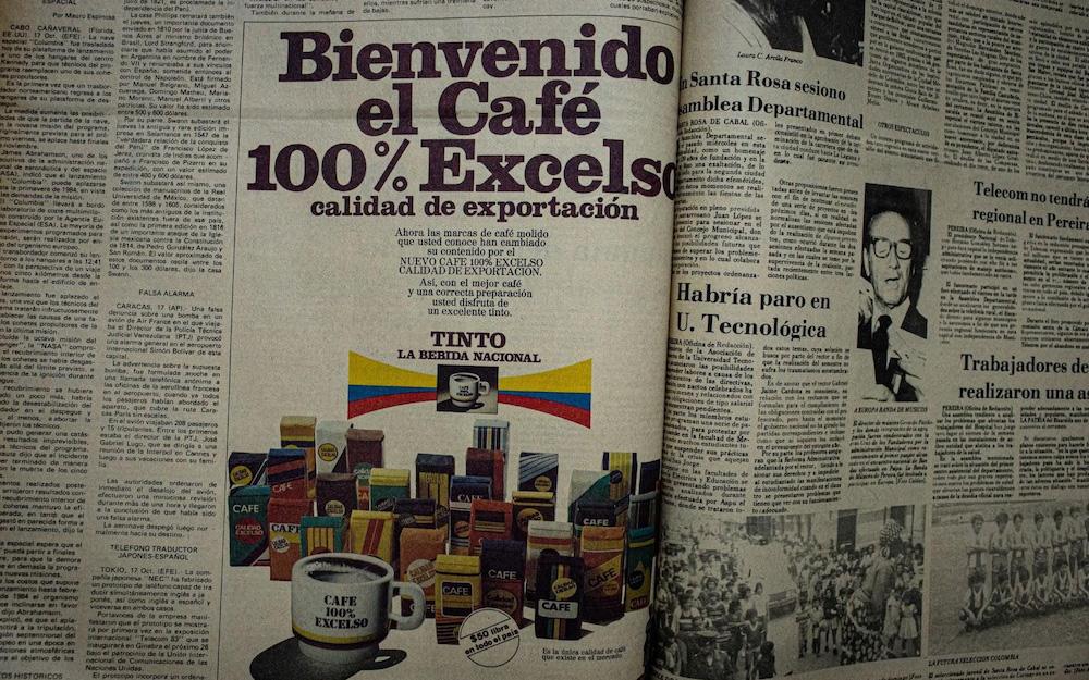 colombian coffee advert
