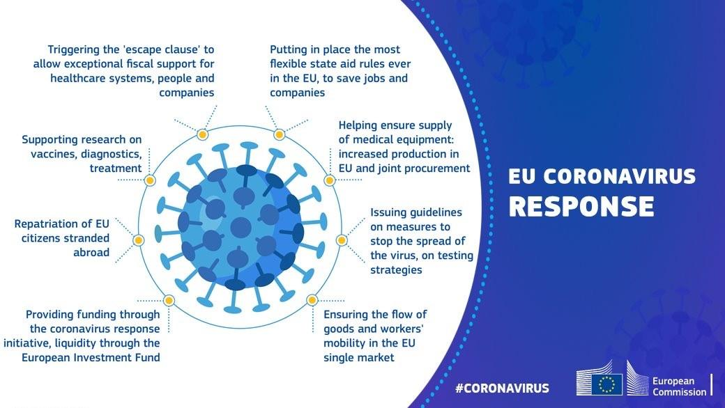 Graphic of the commission's response