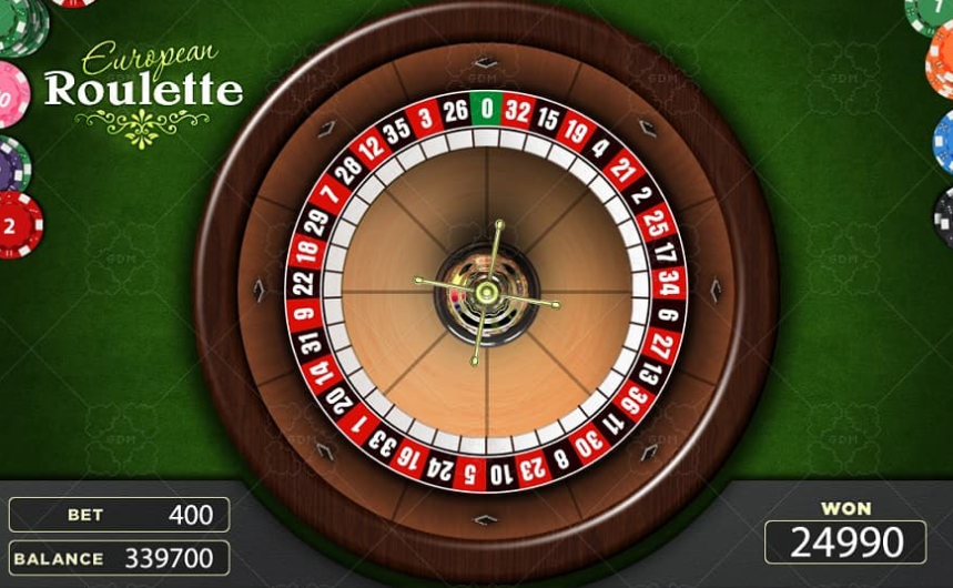 3.Game Roulette