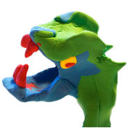 Playdough dragon - Create and Craft