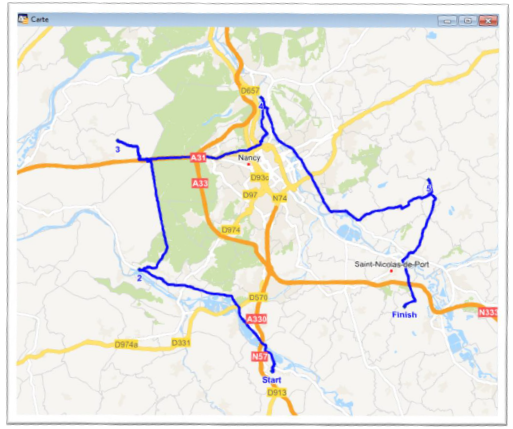 routefinder mapinfo Itinéraires