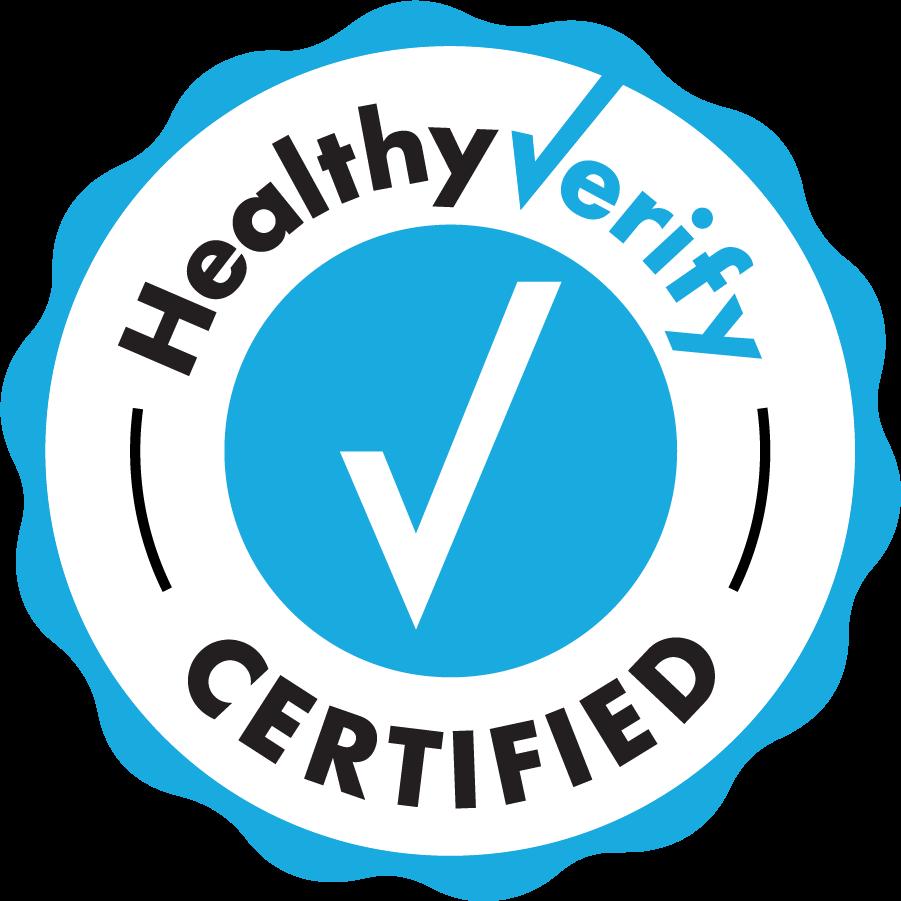 Healthy Verify Certified logo