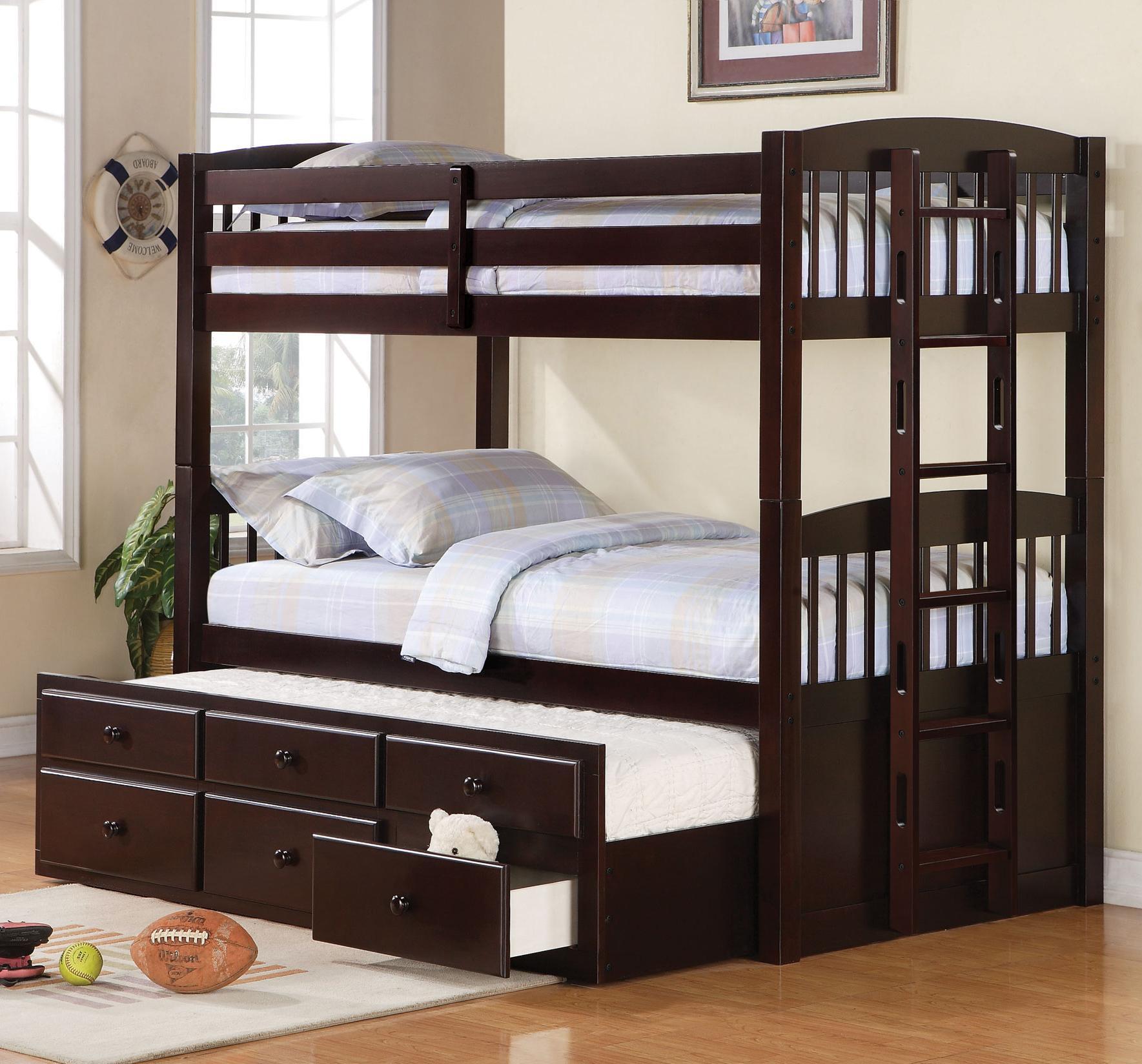 Giường tầng gỗ người lớn 1