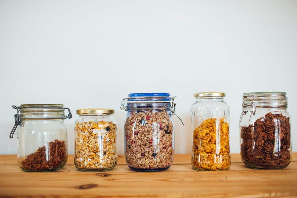 5 reusable jars