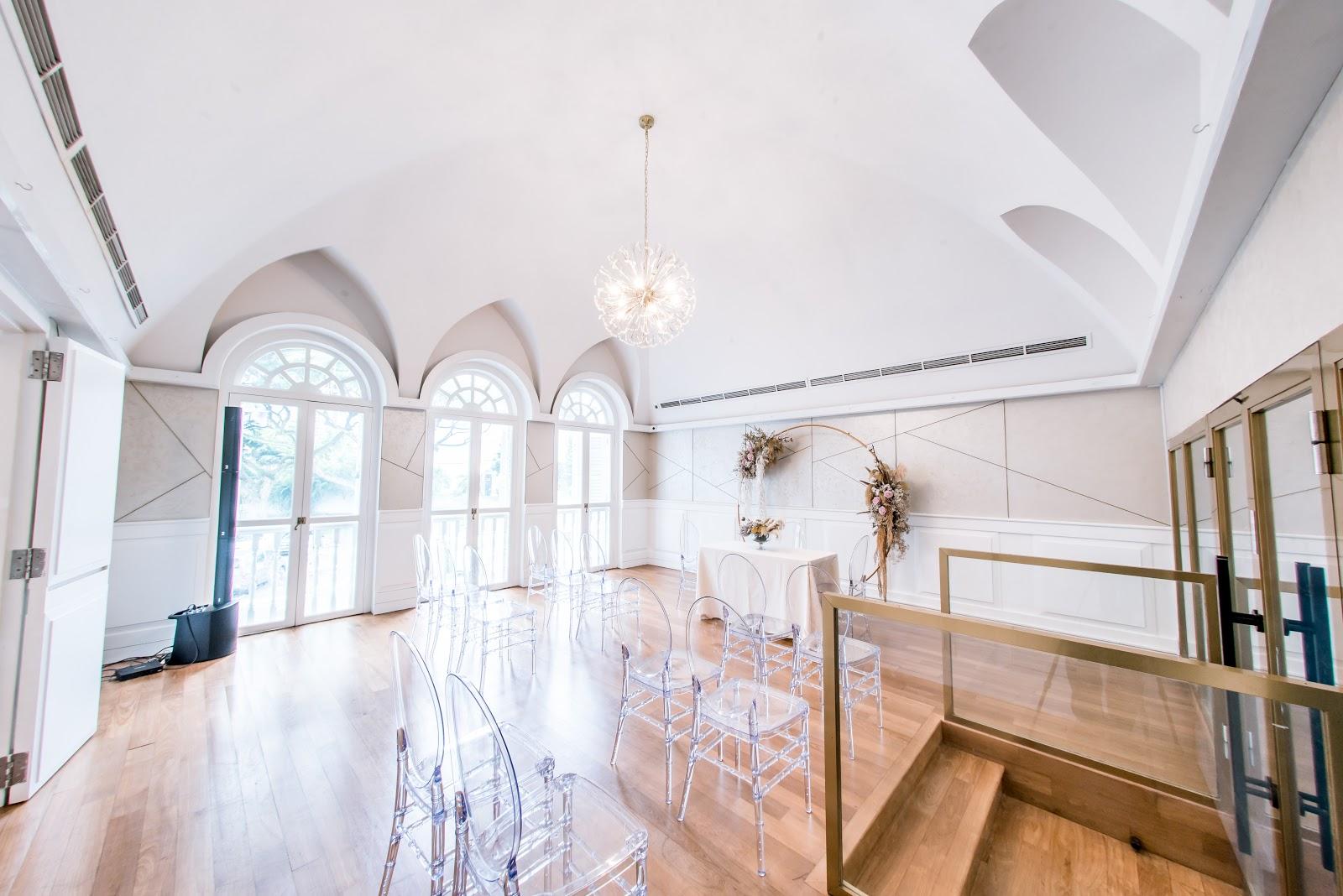 The Secret Patio Solemnisation Room