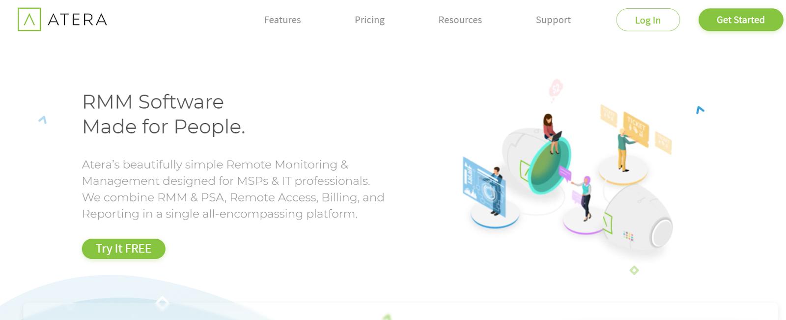 Atera Server Application Monitoring Software