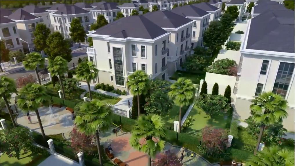 Thiết kế biệt thự tại các dự án bất động sản Vinhomes