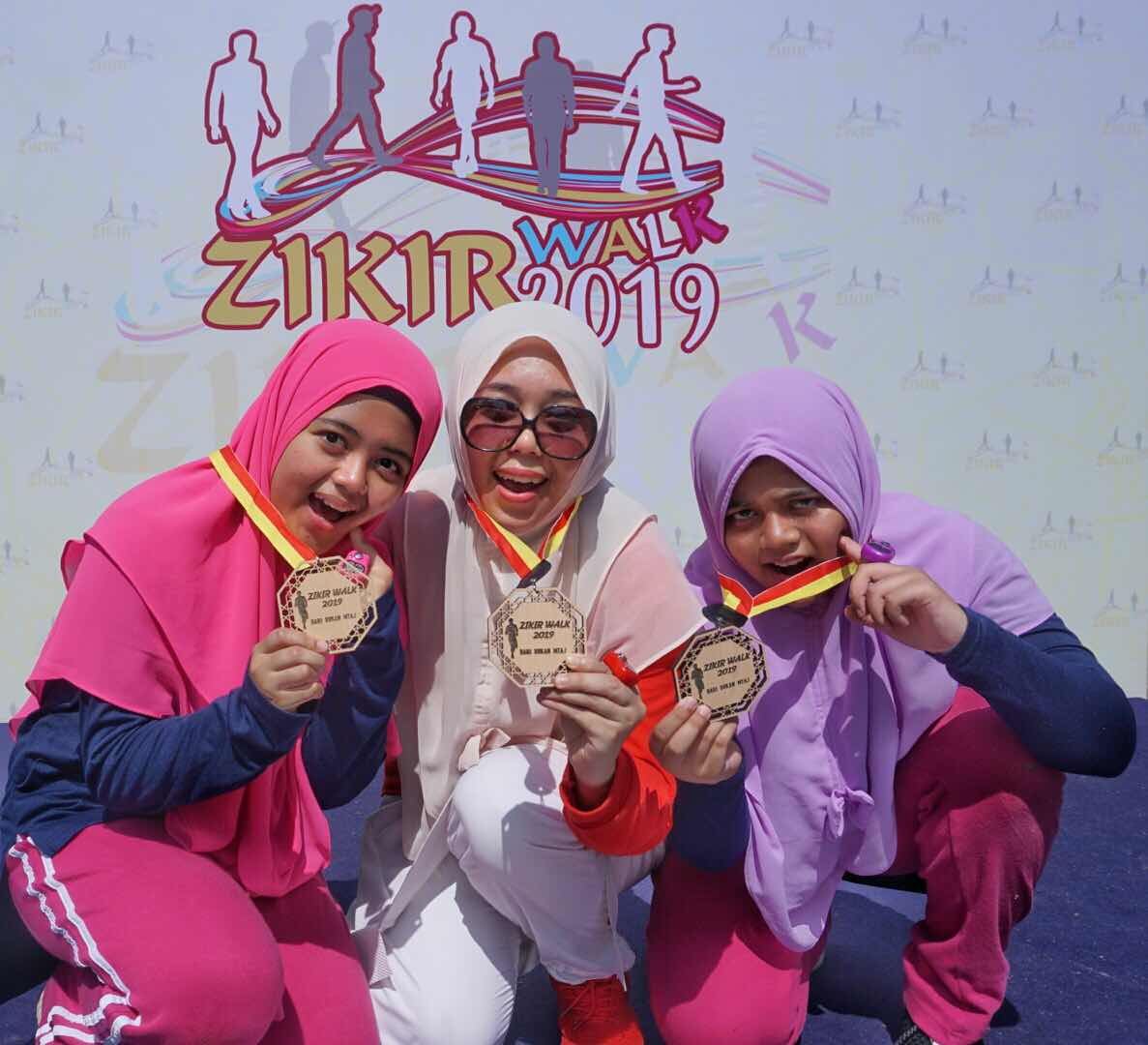zikir walk 2019 premium beautiful therapants maharani bukit jelutong