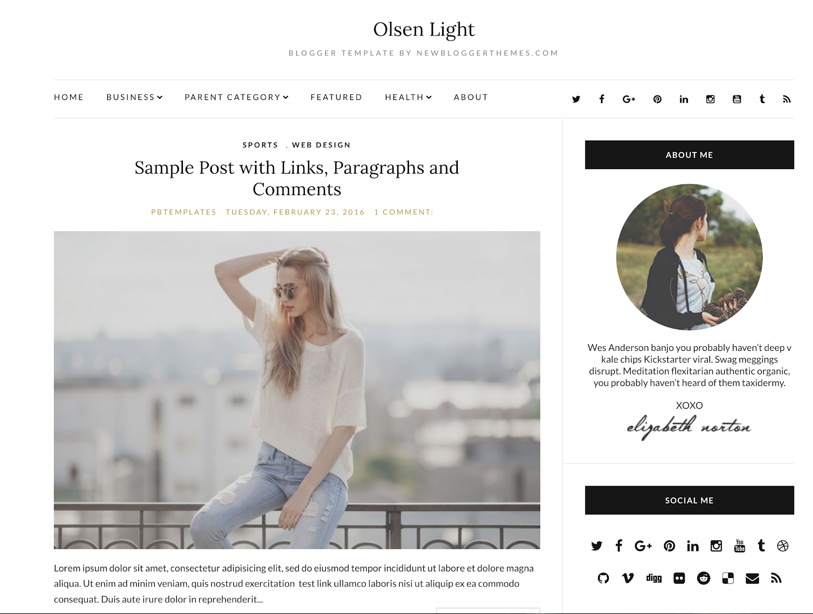 Where to Find Beautiful Blog Templates - A Relaxed Gal