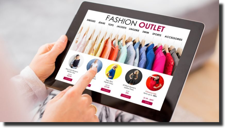 fashion outlet website