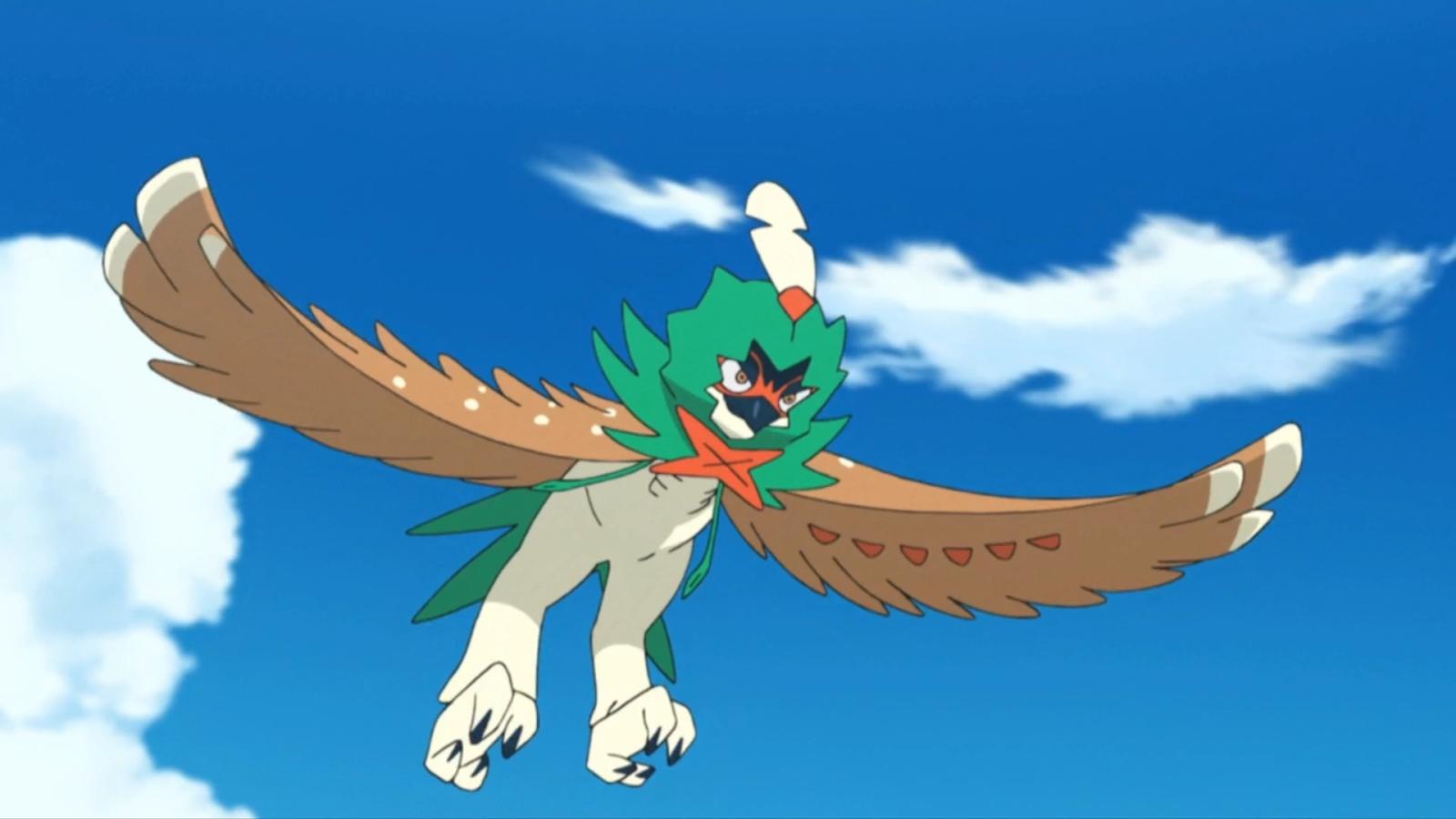 Decidueye Best Grass Type Pokemon