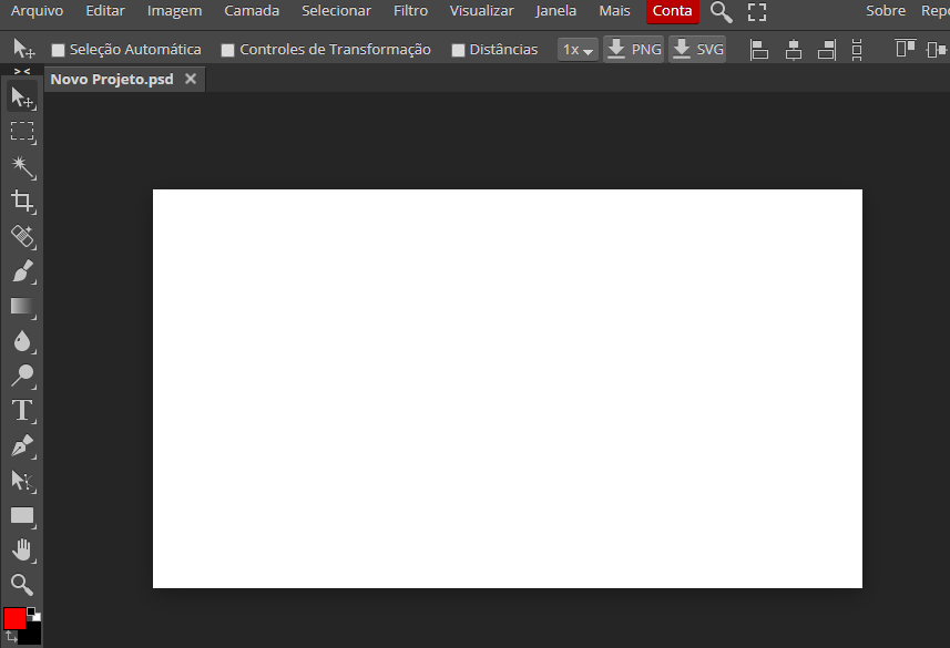 O layout de edição também costuma lembrar bastante a ferramenta da Adobe (Reprodução: Karina Carneiro)