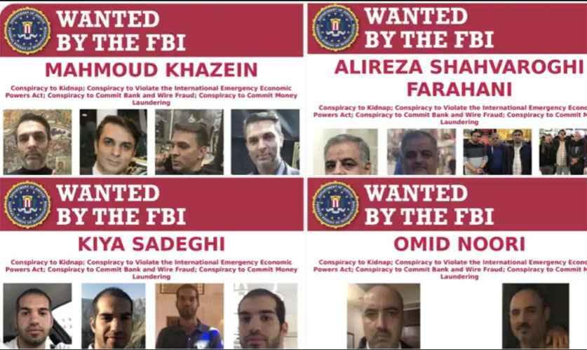 4 ایرانی متهم به تلاش برای ربودن مسیح علی نژاد در آمریکا شدند