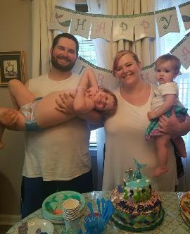 family-at-birthday-party