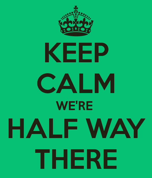 Whoa, We're Halfway There! (Natalie)   D.I.Y. Fitness Blog