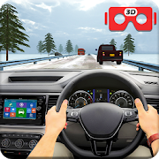 VR Traffic Racing In Car Driving: Virtual Games