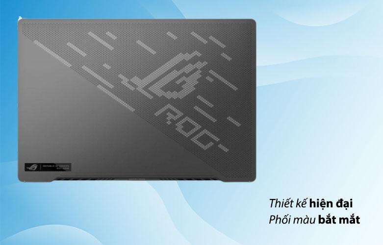 Laptop ASUS ROG Zephyrus G14 GA401QC-HZ022T 90NR05T6-M00500 | Thiết kế hiện địa