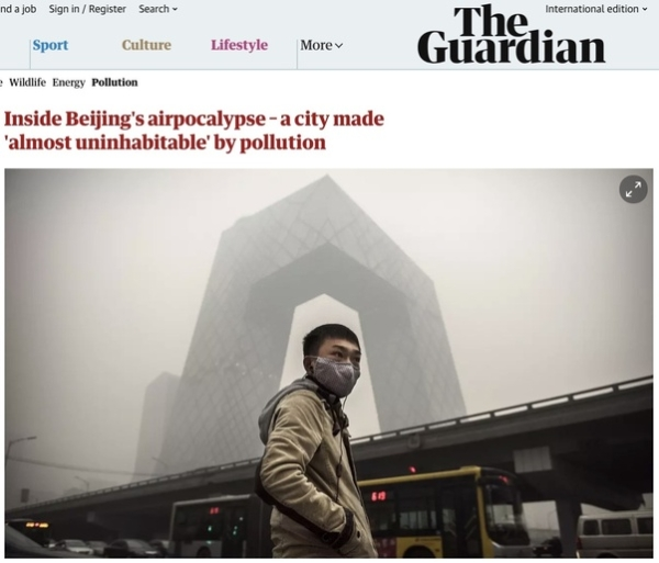 Beijing airpocalypse: Why low levels of air pollution actually cause the MOST harm
