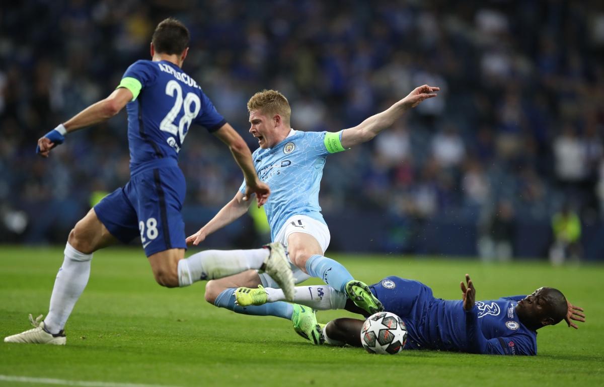 Chelsea đã đánh bại Man City ở trận chung kết Champions League mùa giải năm ngoái