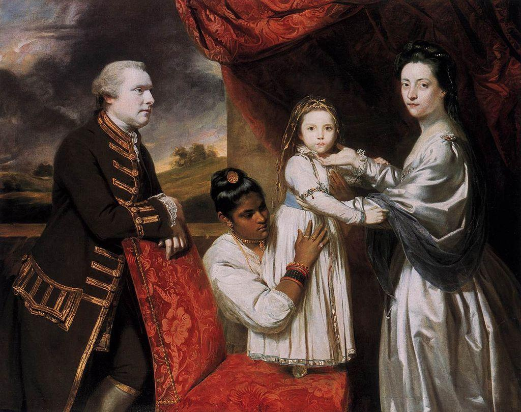 https://upload.wikimedia.org/wikipedia/commons/thumb/3/36/Joshua_Reynolds_-_George_Clive_and_his_Family_with_an_Indian_Maid_-_WGA19338.jpg/1024px-Joshua_Reynolds_-_George_Clive_and_his_Family_with_an_Indian_Maid_-_WGA19338.jpg