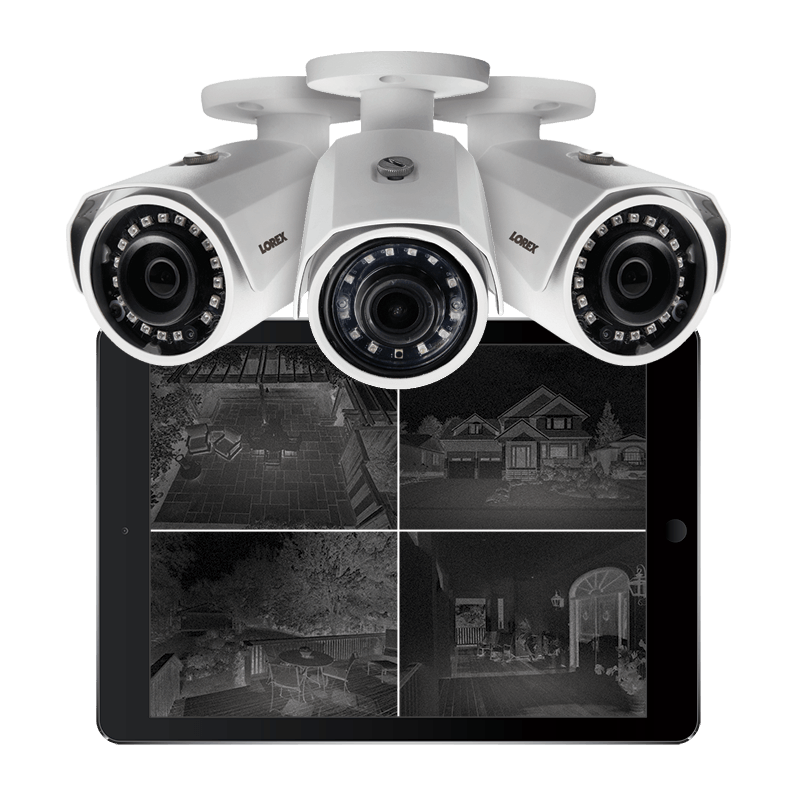 2K infrared night vision security camera