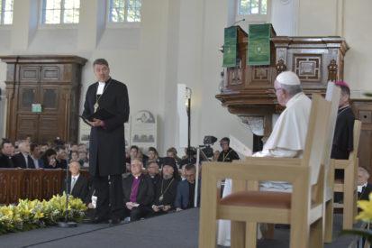 """PHỎNG VẤN TẠI TALLINN: Đức Tổng Giám mục Tin lành của Estonia: """"Cuộc thăm viếng của Đức Giáo hoàng sẽ là sự thể hiện tình yêu thương cho nhau"""""""
