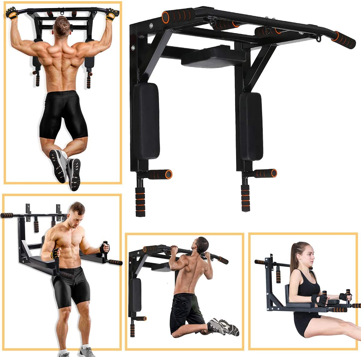 Slsy Multifunctional Wall Mounted Pull Up Bar