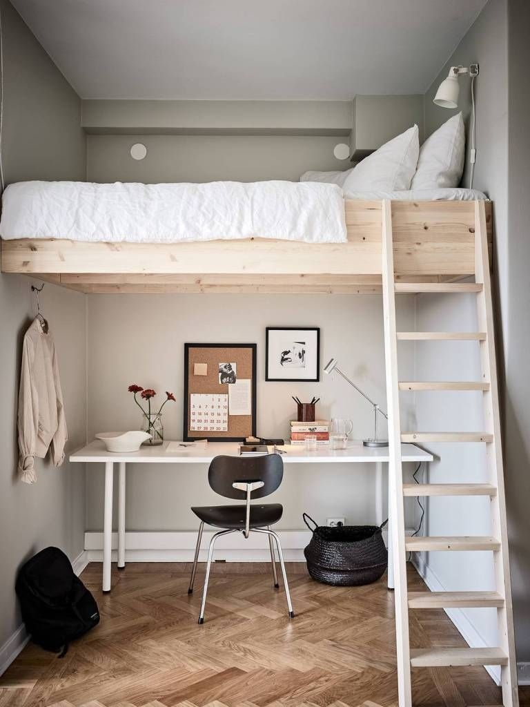 Save Your Small Space with A Loft Bedroom