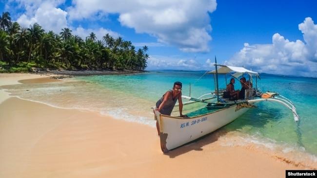 Остров Сиаргао на Филиппинах