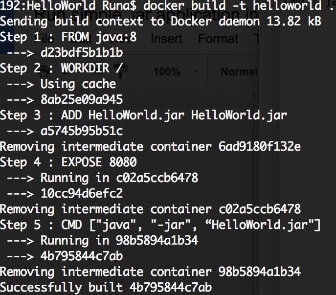 docker build from dockerfile