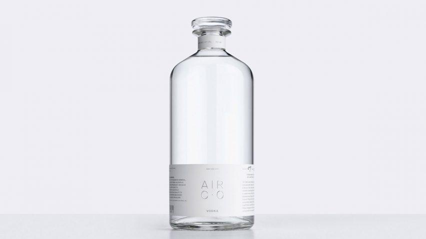 "Air Co launches as ""world's first carbon-negative vodka"""
