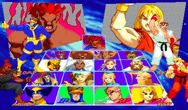 Image result for xmen vs street fighter arcade