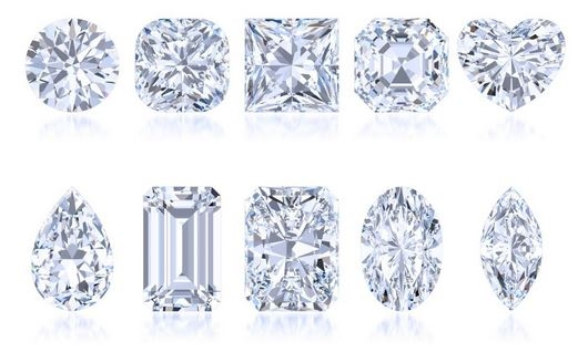The Most Popular Diamond Shapes For Engagement Rings