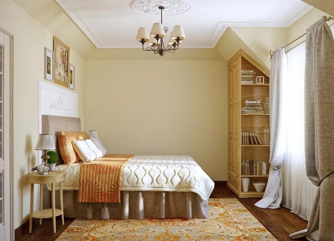 Phòng ngủ màu kem 4