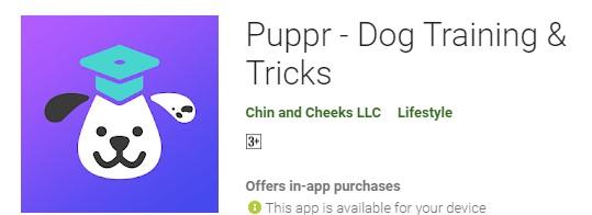 Puppr- Dog Training and Tricks