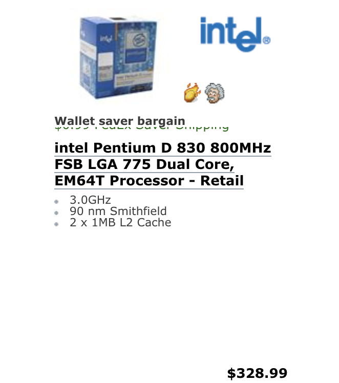 Newegg_Intel_Snapshot