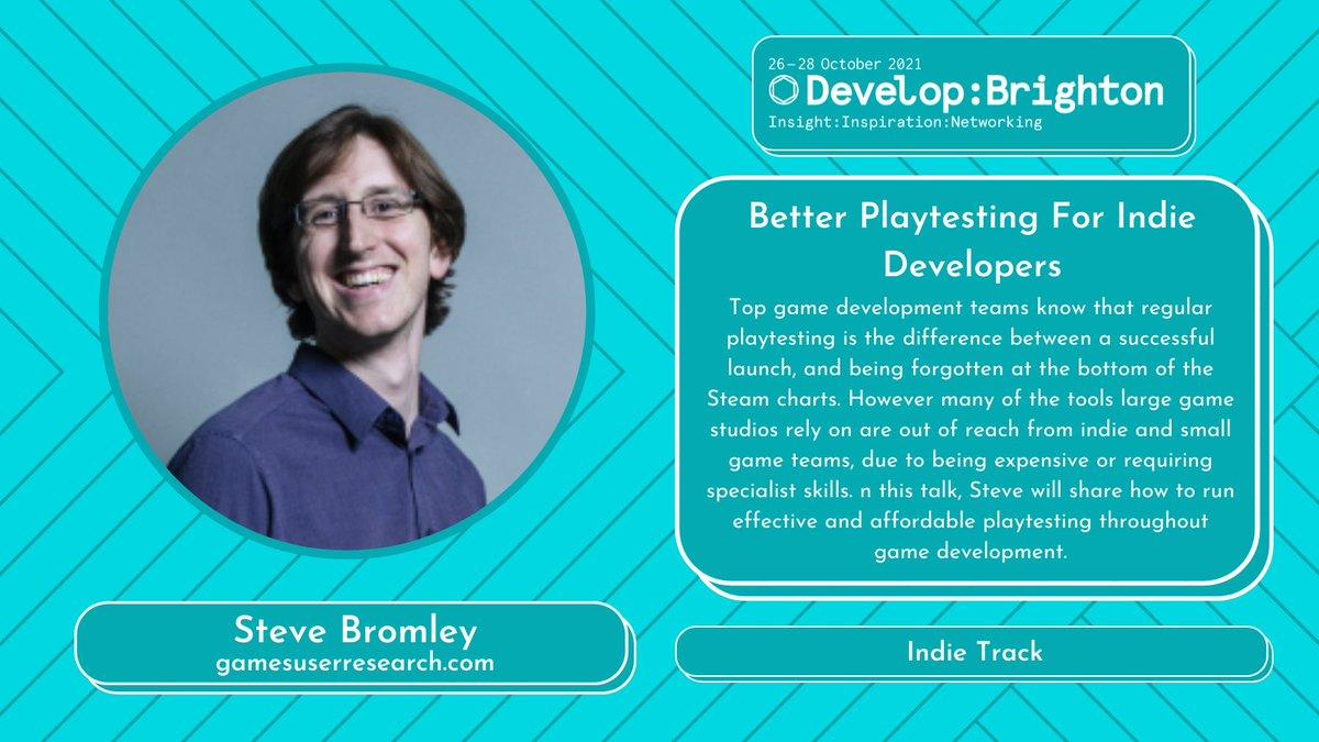 Steve Bromley Develop - Better Playtesting for Indie Developers