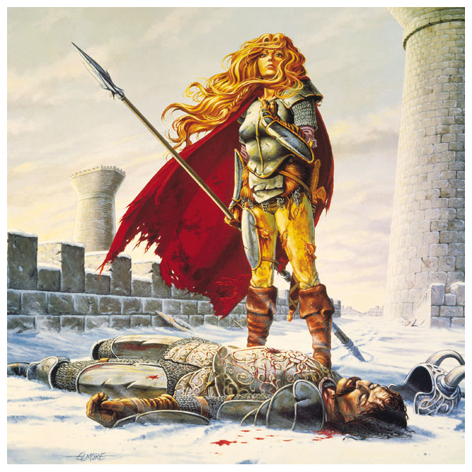 The Death Of Sturm by Larry Elmore.png