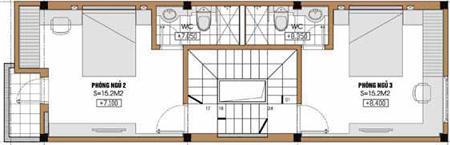 Tư vấn thiết kế nhà lệch tầng